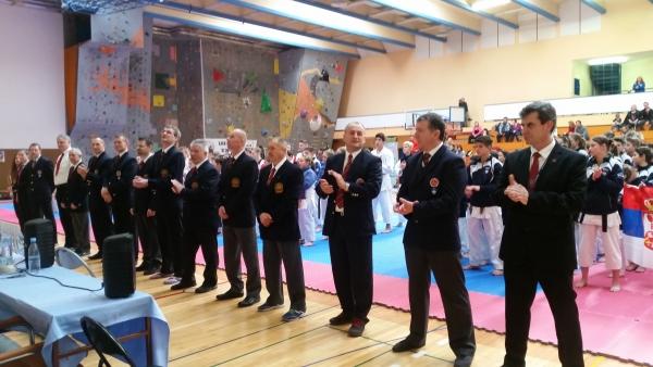 Cupa int. de karate Slovenia - arbitri