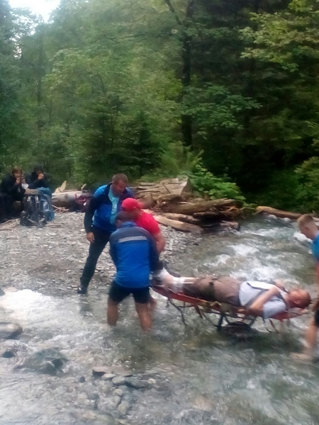 Turist maghiar salvat