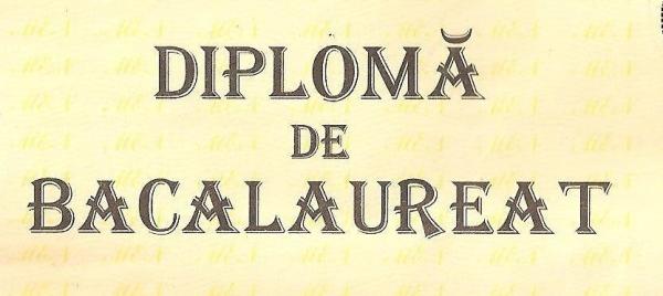 diploma de bac