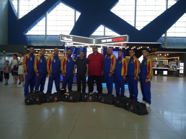 Delegaţia română la Karate World Championship