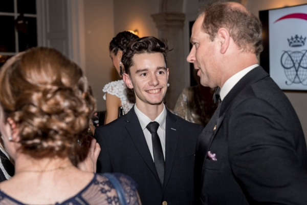 The Duke of Edinburgh's International Award Foundation hosts its annual World Fellowship Christmas Dinner at Queen's House, Greenwich. Attended by HRH The Earl fo Wessex, 8th December 2016 Photography by Fergus Burnett Accreditation required with all use - 'fergusburnett.com'