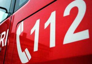 Accident între un microbuz cu călători și un autoturism, în Codlea