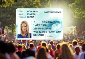 Cărțile de identitate vor fi micșorate și securizate