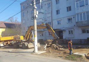 Au început lucrările de reabilitare a mai multor străzi