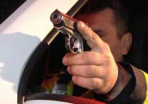 Scandal cu focuri de armă în Veneția de Sus