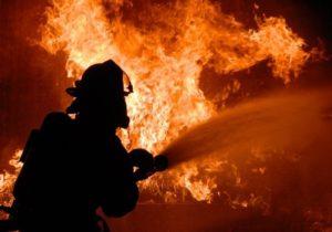Bărbat mort în incendiu, la Ucea de Sus