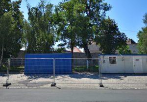 Șantier organizat la Cetatea Făgăraș, lucrări neîncepute din lipsa unui aviz