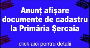Anunt Primaria Sercaia