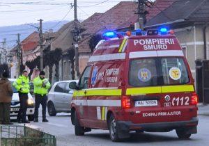 Pieton accidentat în Făgăraș