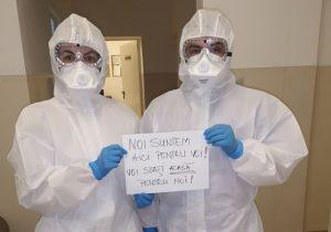 România se îmbolnăvește din nepăsare! Aproape 300 de cadre medicale, infectate cu coronavirus
