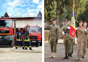 Detașamentul de pompieri Făgăraș a împlinit 80 de ani; Centrul de Perfecționare Infanterie, 114 de ani