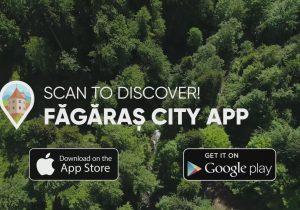 VIDEO | Făgărașul are prima aplicație pentru telefoanele mobile: Făgăraș City App