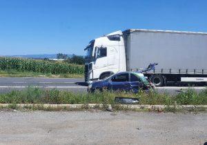 Accident rutier cu victimă, pe DN 1