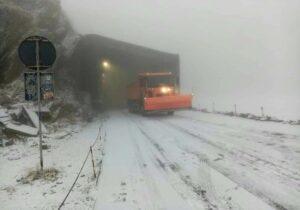 Primele semne de iarnă: a nins pe Transfăgărașean