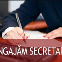 Angajăm secretară